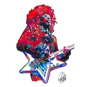 Bootsy Collins Parliament Funkadelic Poster Print